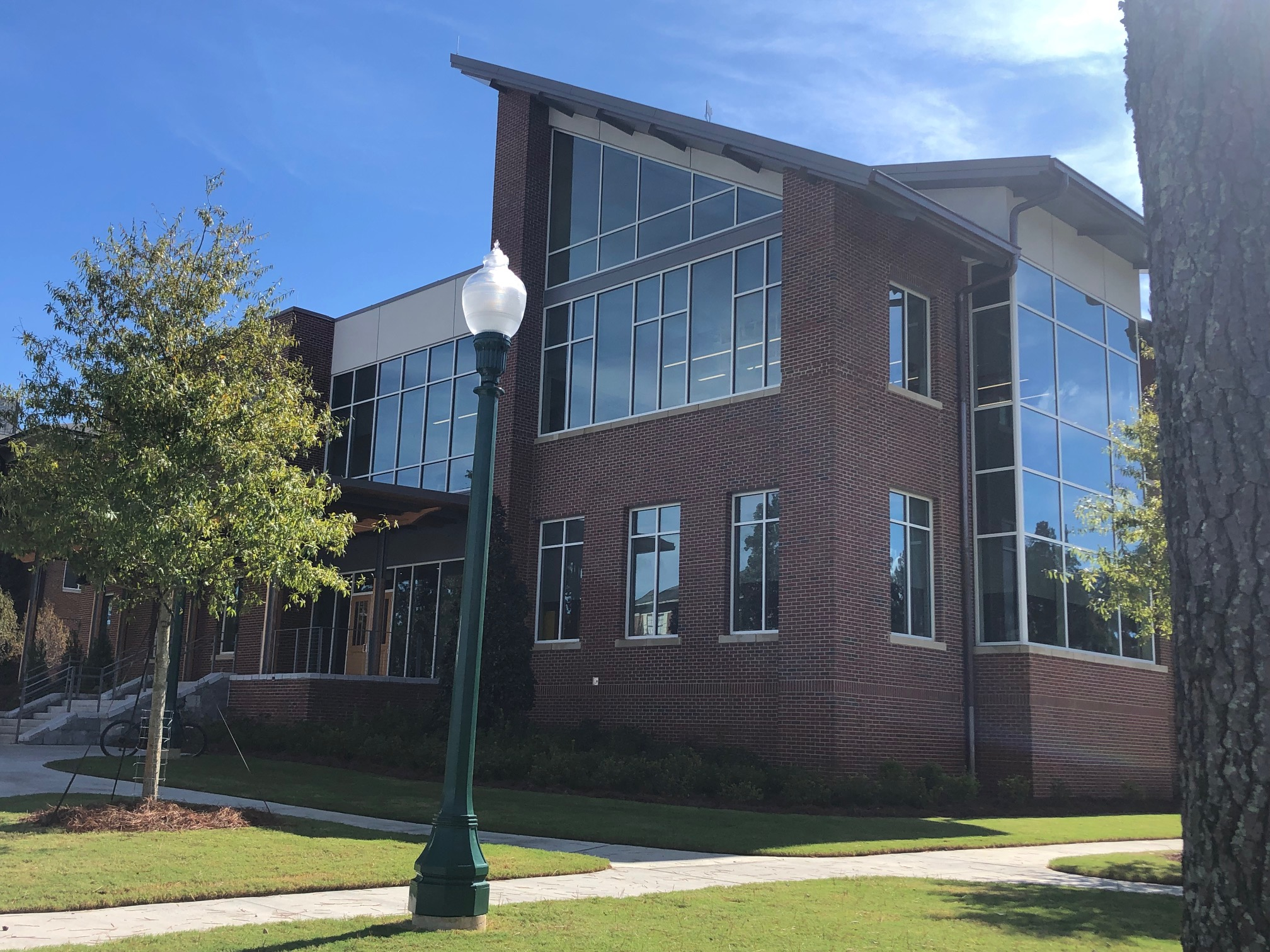 Elrod Teaching Lab Part of New Berry College Animal Science Building