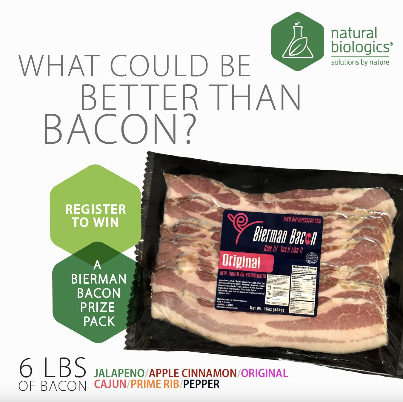 Win a Bierman Bacon Prize Pack!