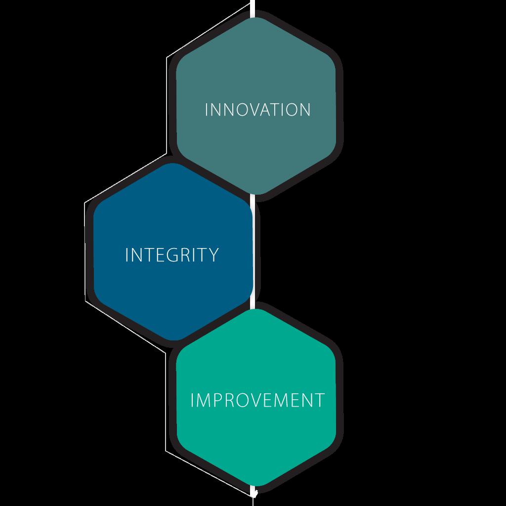 Innovation Integrity Improvement Icons